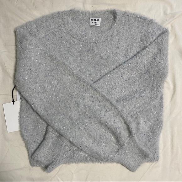 NWT Aritzia Sunday Best Kitten Sweater